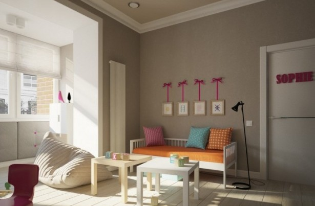 Apartment For A Young Familyfor Child Bedroom White Wooden Floor