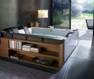 Beautiful Bathtubs Design Bathtub With Storage Glass Door