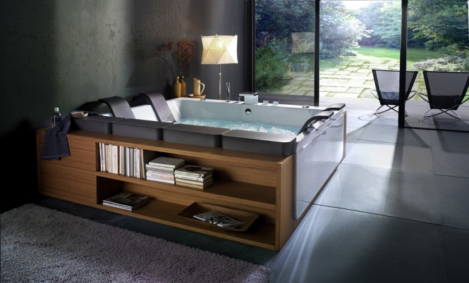 Beautiful Bathtubs Design Bathtub With Storage Glass Door