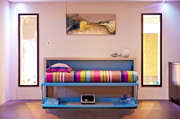 Big Design In A Small Space Modular Bed Colourfull Bed