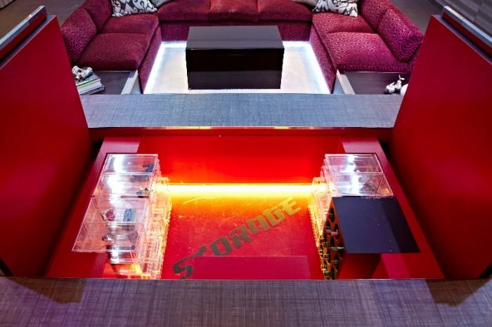 Big Design In A Small Space Wine Cellar