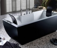 Black And White Bathtub Beautiful Bathtubs Design