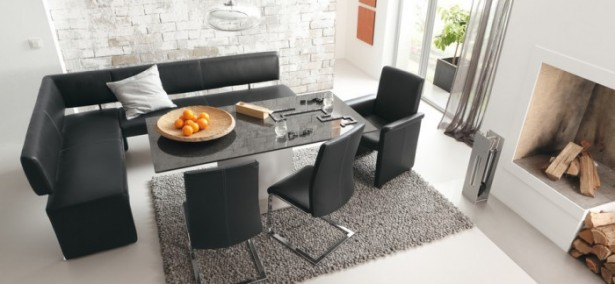 Black Dining Room Set Modern Dining Rooms