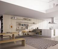 Black White Striped Rug Open Kitchen Shelves Black White Stripes Carpet