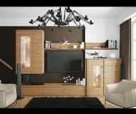 Brown White Black Lounge Modern Living Rooms Brown Theme