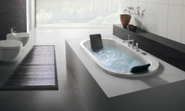 Built In Oval Bathtub Beautiful Bathtubs Design