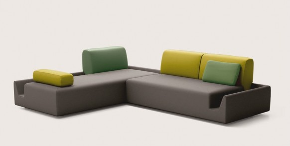 Colorful Living Room Sofa Accents Ideas Design