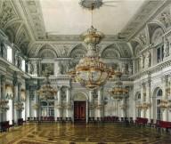 Concert Hall Grand Opulent Russian Palace Ornate Opulence