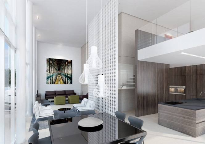 Contemporary Dining Room Decor Back Table Ando Studio Designs
