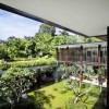 Contemporary Garden Spaces Small Pond Serene Sun House