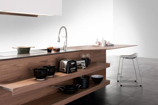 Contemporary Kitchen Kitchen Island Designs Wooden Cabinet