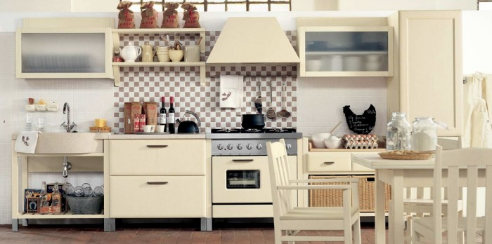 Country Kitchens With Italian Style Charming Country Kitchen