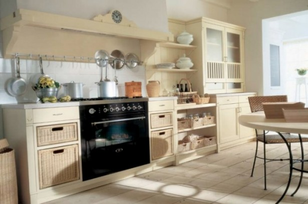 Country Kitchens With Italian Style Custom Country Cabinets