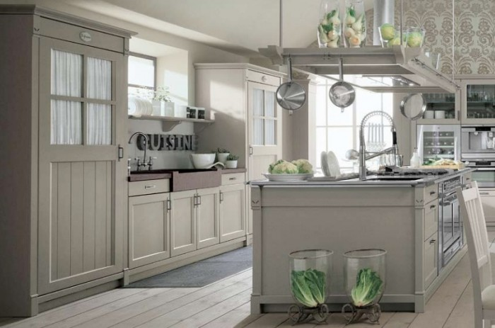 Country Kitchens With Italian Style French Country Kitchen