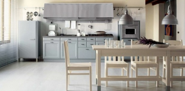 Country Kitchens With Italian Style Grey Kitchen Unique Lamps