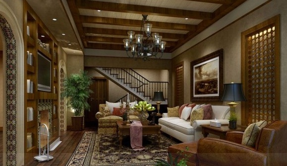 Country Warmth Living Room Neutral Tones Modern Living Rooms