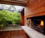 Courtyard Design Inspiration Courtyards Design Ideas Firepalce Decor