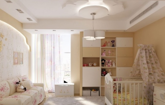Creative Home Design Pink White Nursery Unique Lamp