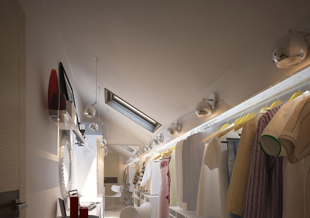 Creative Home Design for Walk-in-closet roung mirror