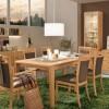 Dining Set Modern Wood Green Rug Modern Dining Rooms
