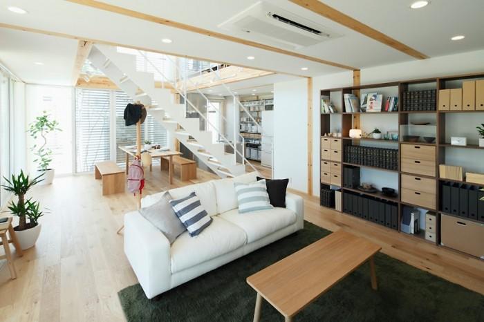 Drak Rug City Living Room Japanese Style Interior Design
