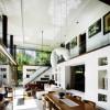 Dual Level Home Design Whie Ceiling Serene Sun House