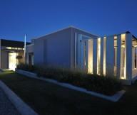Exterior Modern Home Landscaping Smart Lighting Stunning Modern Family