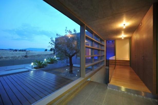 Exterior Modern Home Terrace Stunning Modern Family Wooden Floor