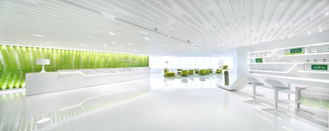 Green Office Inspiration Luxury White Commercial Space