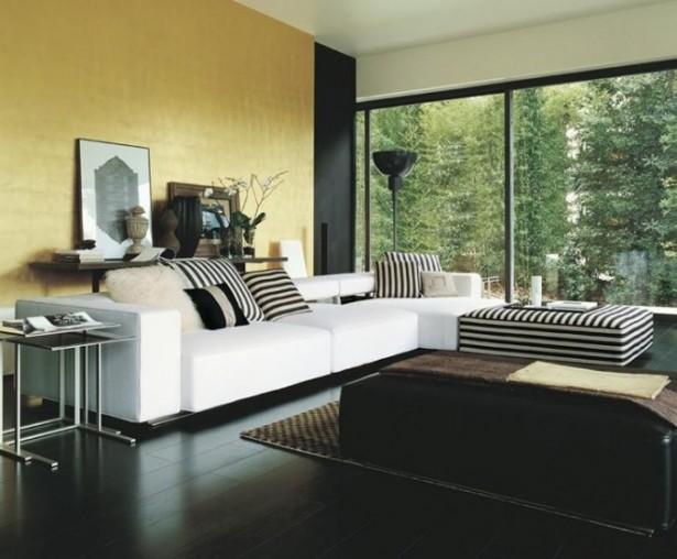 Grey Floor Large White Sofa Modern Sofa Ideas