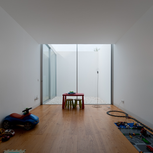 House With The Simplest Of Forms Childrens Room Wooden Floor