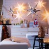 Indoor Decor Country Christmas Decor Ideas Star Lighting