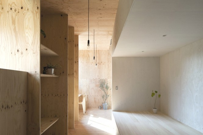 Japanese Minimalism Design  Contemporary Japanese Interior Wooden Cupboard