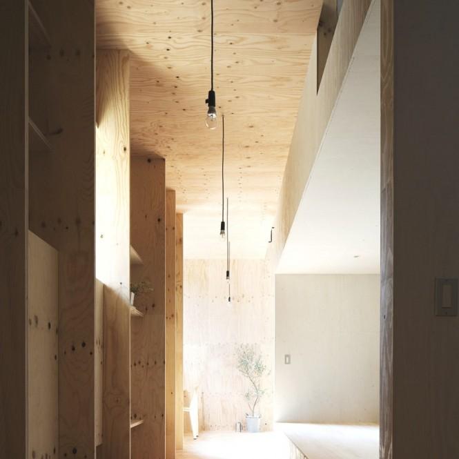 Japanese Minimalism Design  Exposed Bulb Lighting Ideas