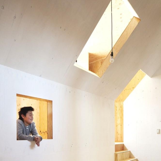 Japanese Minimalism Design  Modern Hallway White Wall