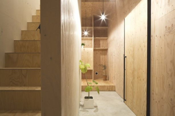 Japanese Minimalism Design Timber Staircase Wooden Stairs