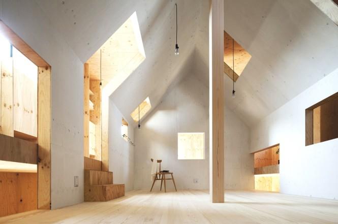 Japanese Minimalism Design  Timber White Decor Scheme