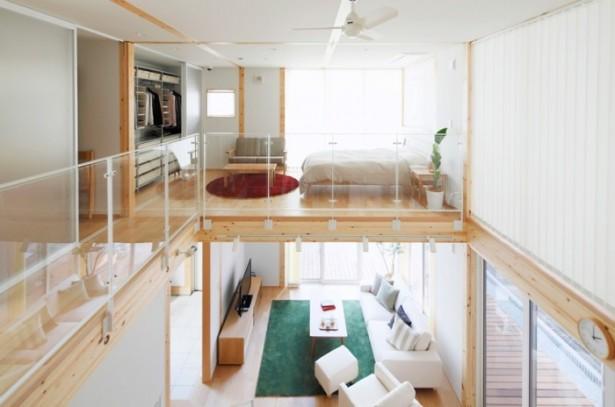 Japanese Style Interior Design Minimalist Bedroom Red Rug