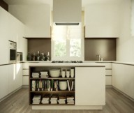 Kitchen Island Designs Gourmet Kitchen Modern White Cabinet