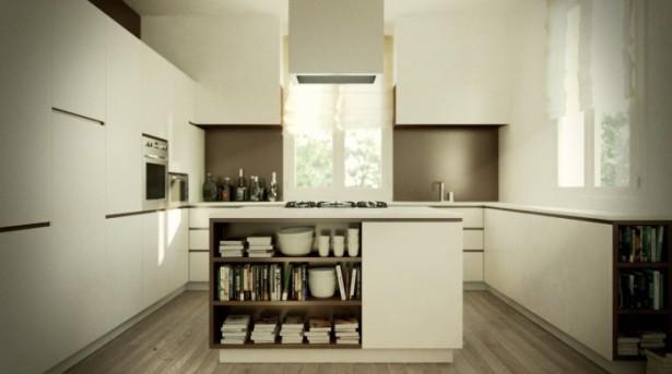 Kitchen Island Designs Gourmet Kitchen Modern White Cabinet