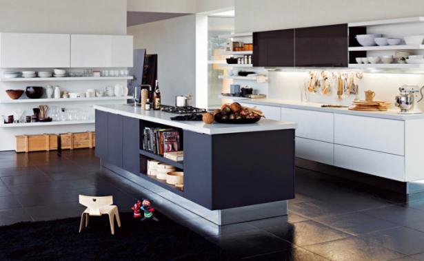 Kitchen Island Designs Grey And White Kitchen Black Rug