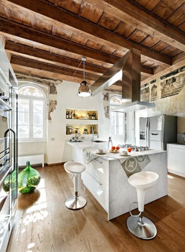 Kitchen Island Designs Rustic Kitchen Island Wooden Floor