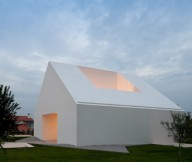 Light Being Emitted From Openings House With The Simplest Of Forms