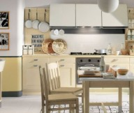 Light Maple Wood In Kitchen Country Kitchens With Italian Style