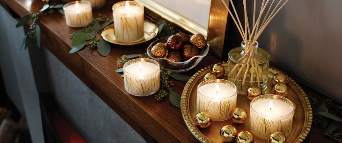 Mantel Decor Inspiration Christmas Candle Mantel Decor