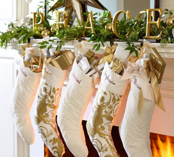 Mantel Decor Inspiration White And Gold Mantel Decorations Ideas