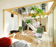 Minimalist Japanese Style Interior Design White Wall