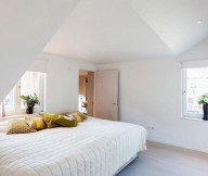 Modern City Apartment Sweden Stunning Modern Stockholm Apartment White Bed