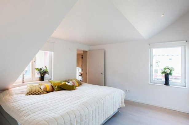 Modern City Apartment Sweden Stunning Modern Stockholm Apartment White Bed