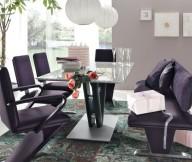 Modern Dining Rooms Purple Dining Room Unique Carpet